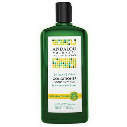 Andalou Naturals, Sunflower&Citrus Conditioner 340ml