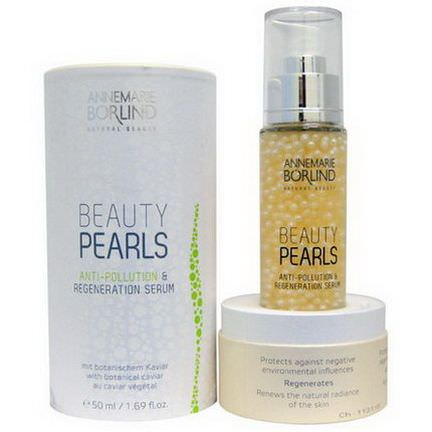 AnneMarie Borlind, Beauty Pearls, Anti-Pollution&Regeneration Serum 50ml