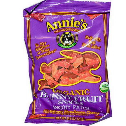 Annie's Homegrown, Organic Bunny Fruit Snacks Berry Patch 23g