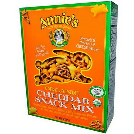 Annie's Homegrown, Organic, Cheddar Snack Mix 255g