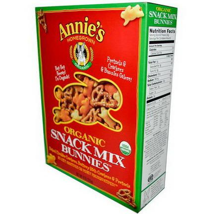 Annie's Homegrown, Organic Snack Mix Bunnies 255g