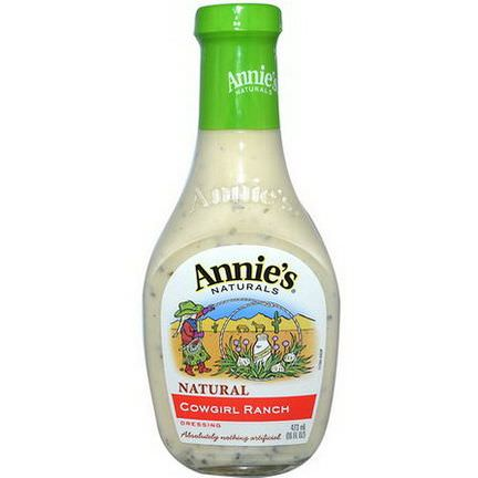 Annie's Naturals, Cowgirl Ranch Dressing 473ml