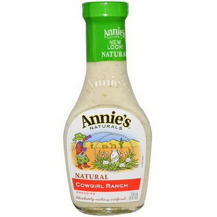 Annie's Naturals, Cowgirl Ranch Dressing 236ml
