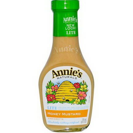 Annie's Naturals, Lite Honey Mustard Vinaigrette 236ml