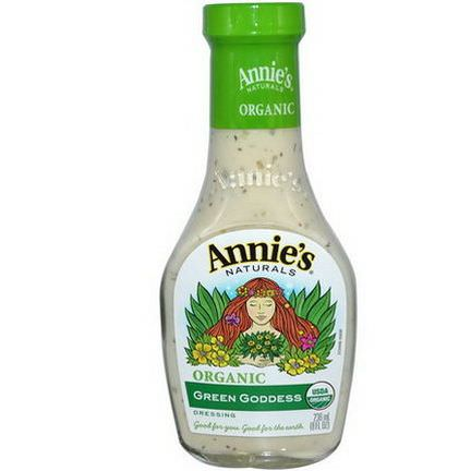 Annie's Naturals, Organic Green Goddess Dressing 236ml