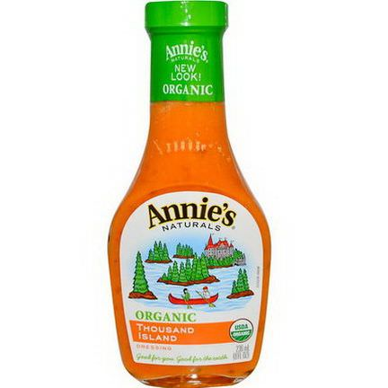 Annie's Naturals, Organic Thousand Island Dressing 236ml