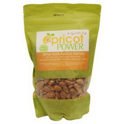 Apricot Power, Bitter Raw Apricot Seeds 454g