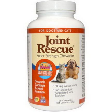 Ark Naturals, Joint Rescue, Super Strength Chewable, For Dogs and Cats 315g