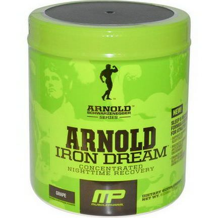 Arnold, Iron Dream, Concentrated Nighttime Recovery, Grape 171g