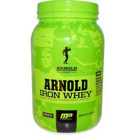 Arnold, Iron Whey Protein, Chocolate 908g