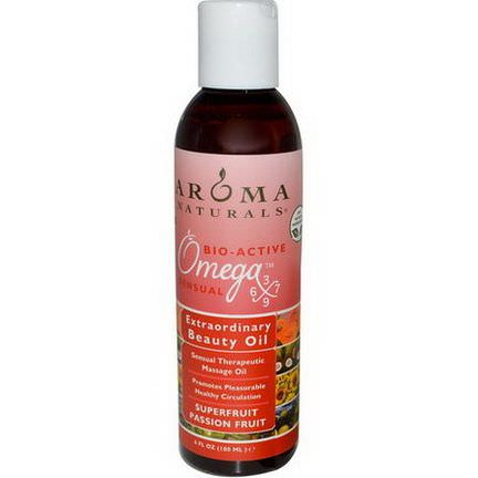 Aroma Naturals, Extraordinary Beauty Oil, Superfruit Passion Fruit 180ml