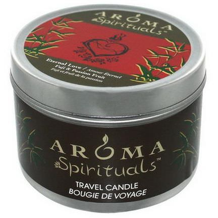 Aroma Naturals, Spirituals, Travel Candle, Eternal Love, Fuji&Passion Fruit 184.27g