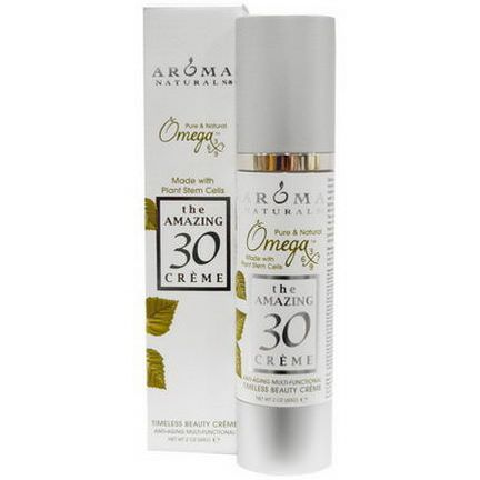 Aroma Naturals, The Amazing 30 Cream, Anti-Aging Multi-Functional 60g