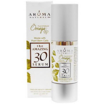 Aroma Naturals, The Amazing 30 Serum, Anti-Aging Multi-Functional 30g