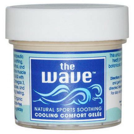 Aroma Naturals, The Wave, Natural Sports Soothing, Cooling Comfort Gelee 30g