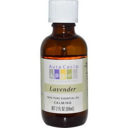Aura Cacia, 100% Pure Essential Oil, Lavender 59ml