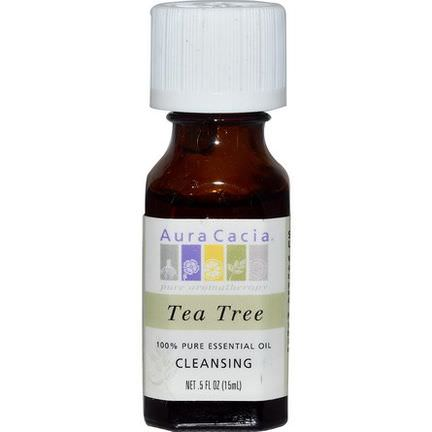 Aura Cacia, 100% Pure Essential Oil, Tea Tree 15ml