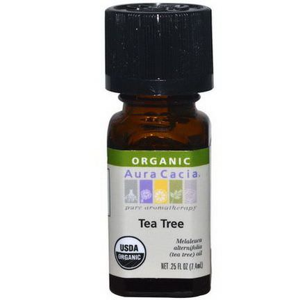 Aura Cacia, Organic, Tea Tree 7.4ml