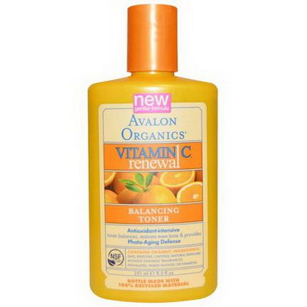 Avalon Organics, Vitamin C Renewal, Balancing Toner 251ml