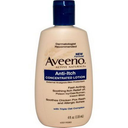 Aveeno, Active Naturals, Anti-Itch Concentrated Lotion 118ml
