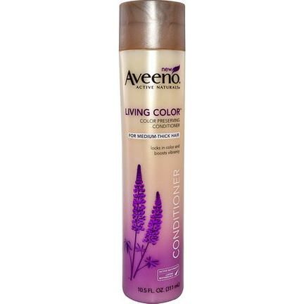 Aveeno, Active Naturals, Living Color, Conditioner, For Medium to Thick Hair 311ml