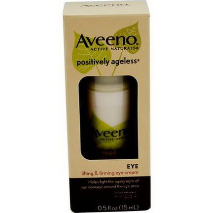 Aveeno, Active Naturals, Positively Ageless, Lifting&Firming Eye Cream 15ml