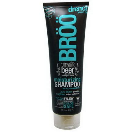 Broo, Moisturizing Shampoo, Hop Flower 250ml