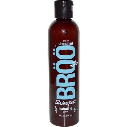 Broo, Shampoo, Dry to Drenched, Hydrating Porter, Warm Vanilla 236ml