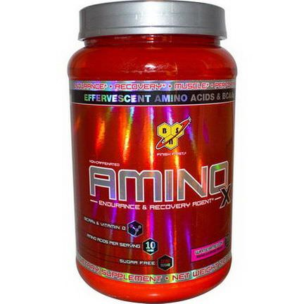 BSN, AminoX, Endurance&Recovery Agent, Non-Caffeinated, Watermelon 1.01 kg