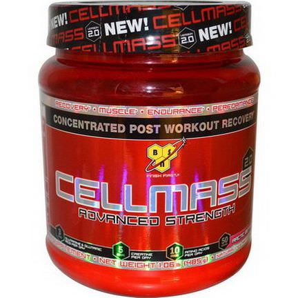 BSN, Cellmass 2.0, Concentrated Post Workout Recovery, Arctic Berry 485g