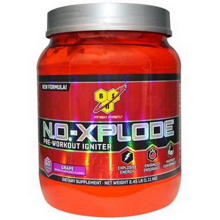 BSN, N.O.-Xplode, Pre-Workout Igniter, Grape 1.11 kg