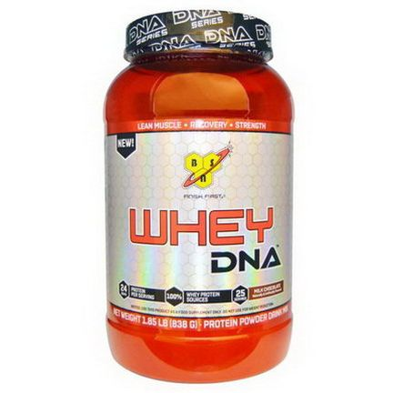 BSN, Whey DNA, Protein Powder Drink Mix, Milk Chocolate 838g