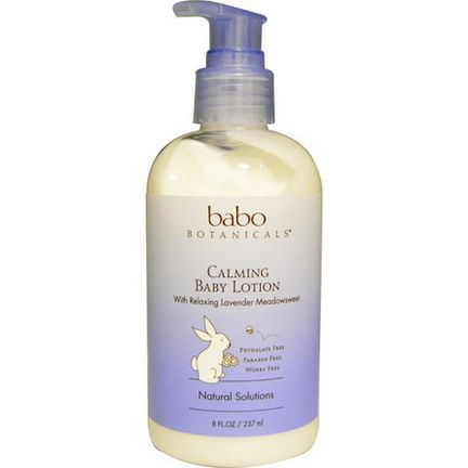Babo Botanicals, Calming Baby Lotion 237ml
