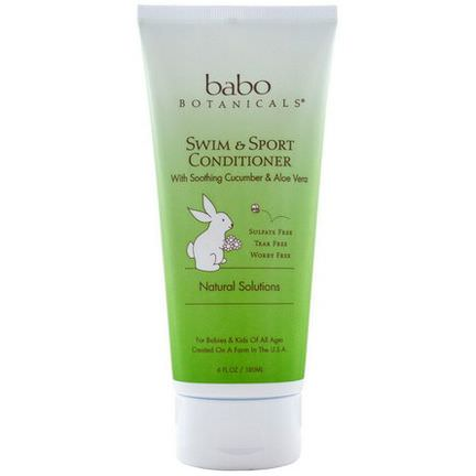 Babo Botanicals, Swim&Sport Conditioner 180ml