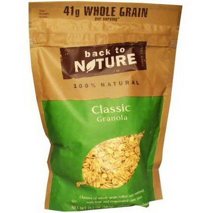 Back to Nature, 100% Natural Classic Granola 382g