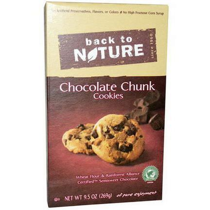 Back to Nature, Chocolate Chunk Cookies 269g
