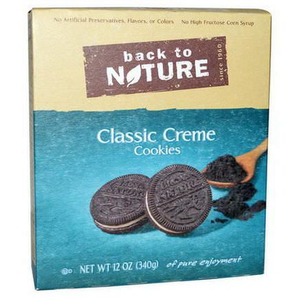 Back to Nature, Classic Creme Cookies 340g