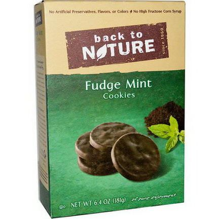 Back to Nature, Fudge Mint Cookies 181g