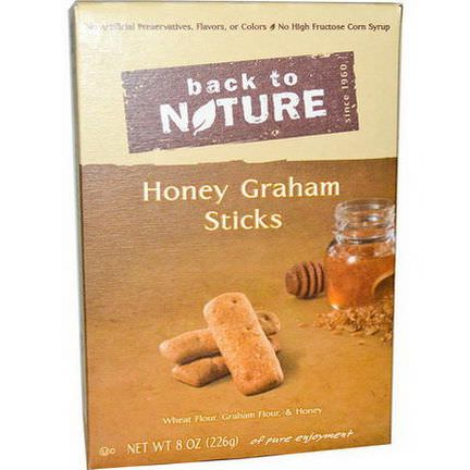 Back to Nature, Honey Graham Sticks 226g