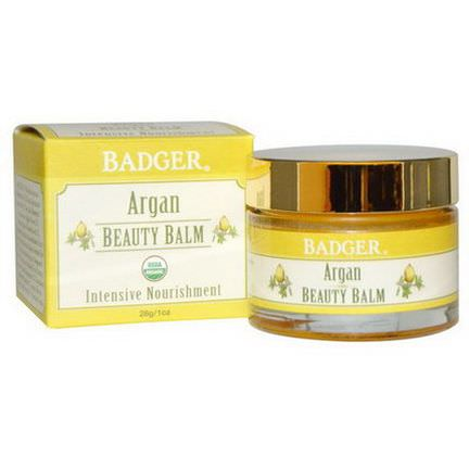 Badger Company, Beauty Balm, Argan 28g