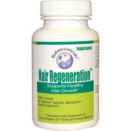 Balanceuticals, Hair Regeneration, 500mg, 60 Capsules
