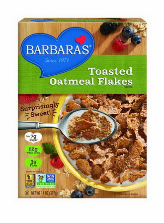 Barbara's Bakery, Toasted Oatmeal Flakes Cereal 397g