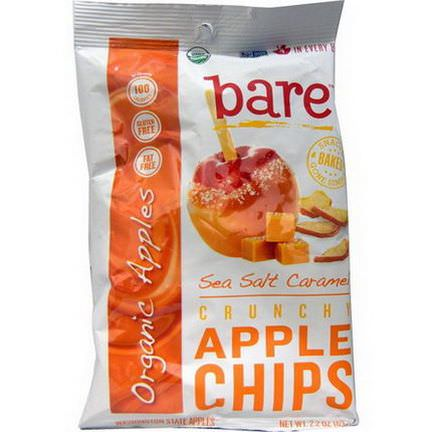 Bare Fruit, Crunchy Apple Chips, Sea Salt Caramel 63g