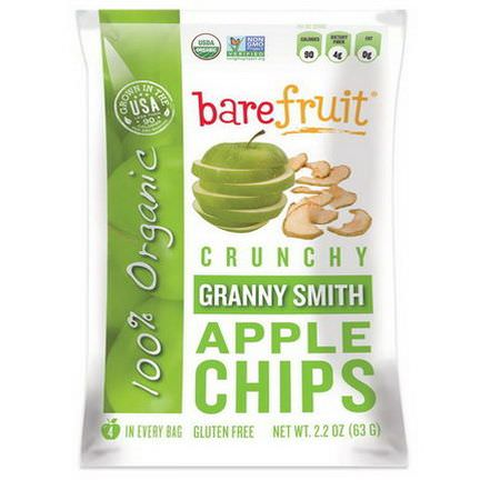 Bare Fruit, Granny Smith Apple Chips 63g