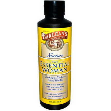 Barlean's, The Essential Woman, Nurture 350ml