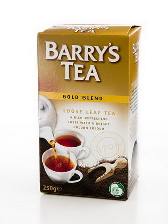 Barry's Tea, Loose Leaf Tea, Gold Blend, 250g