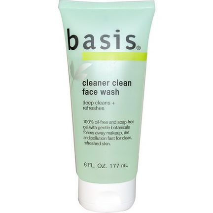 Basis, Cleaner Clean Face Wash 177ml