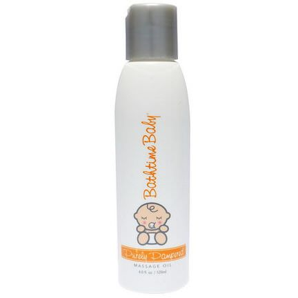 Bathtime Baby, Purely Pampered, Massage Oil 120ml