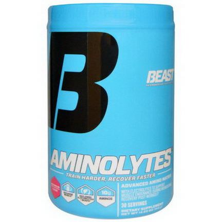 Beast Sports Nutrition, Aminolytes, Watermelon 416g