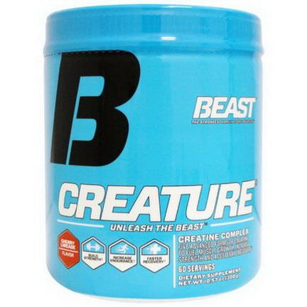 Beast Sports Nutrition, Creature Powder, Cherry Limeade 300g